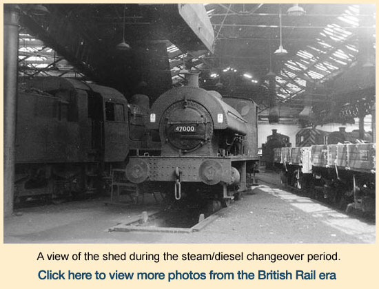Click here to view more images from the British Rail era.