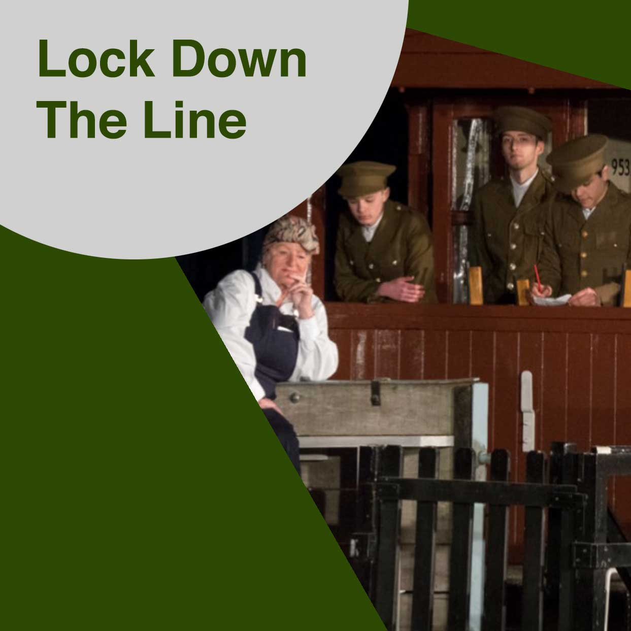 Lock Down The Line, Barrow Hill Community, Chesterfield