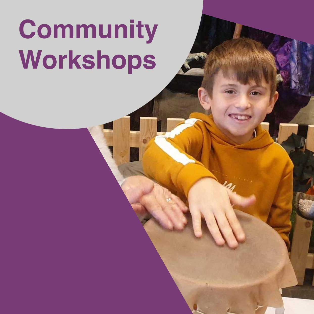 Community Workshops at Barrow Hill Roundhouse and Railway Museum
