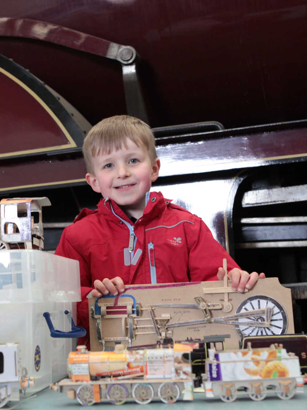 Family fun at Barrow Hill Railway Museum, Chesterfield